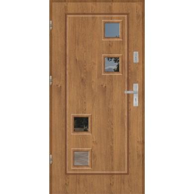 Drzwi wejściowe stalowe model PREMIUM FINEZJA 16A