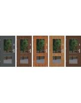 Drzwi wejściowe stalowe model PREMIUM DUO 2