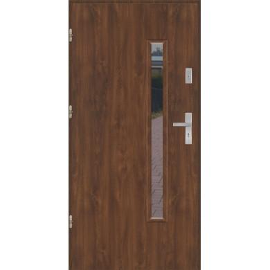 Drzwi wejściowe stalowe model PREMIUM PŁASKIE S16