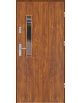 Drzwi wejściowe stalowe model PREMIUM PŁASKIE S18