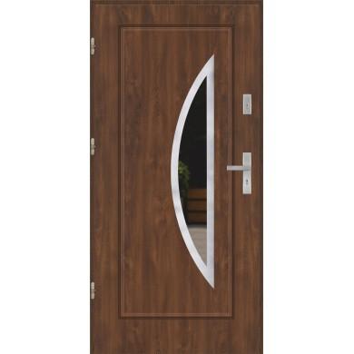 Drzwi wejściowe stalowe model PREMIUM FINEZJA 34 INOX