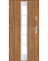 Drzwi wejściowe stalowe model PREMIUM PŁASKIE 26 INOX