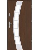 Drzwi wejściowe stalowe model PREMIUM PŁASKIE 31 INOX