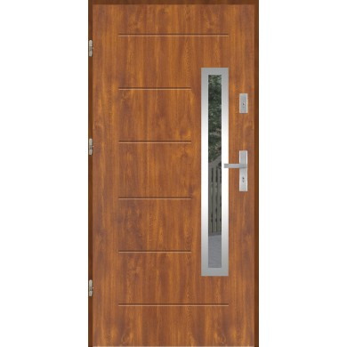 Drzwi wejściowe stalowe model PREMIUM GALA 81 INOX