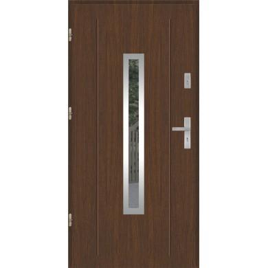 Drzwi wejściowe stalowe model PREMIUM GALA 84 INOX