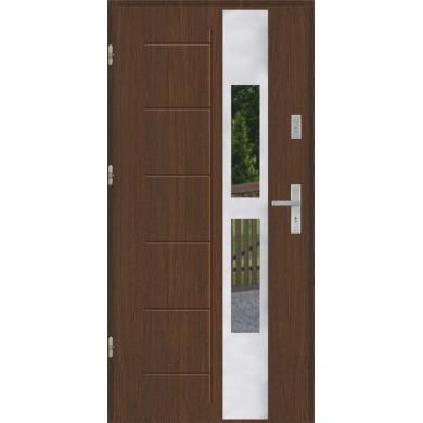 Drzwi wejściowe stalowe model PREMIUM GALA 135 INOX