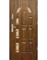 Drzwi wejściowe stalowe model PREMIUM PLUS PIAST 6