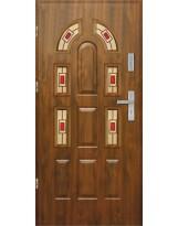 Drzwi wejściowe stalowe model PREMIUM PLUS PIAST 9