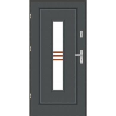Drzwi wejściowe stalowe model PREMIUM PLUS FINEZJA 13