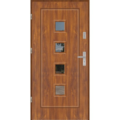 Drzwi wejściowe stalowe model PREMIUM PLUS FINEZJA 15