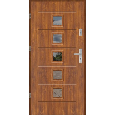 Drzwi wejściowe stalowe model PREMIUM PLUS GALA 2S