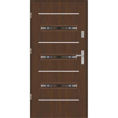 Drzwi wejściowe stalowe model PREMIUM PLUS PŁASKIE S15