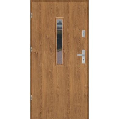 Drzwi wejściowe stalowe model PREMIUM PLUS PŁASKIE S17