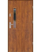 Drzwi wejściowe stalowe model PREMIUM PLUS PŁASKIE S18