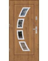 Drzwi wejściowe stalowe model PREMIUM PLUS FINEZJA 3 INOX