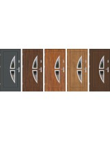 Drzwi wejściowe stalowe model PREMIUM PLUS FINEZJA 5 INOX