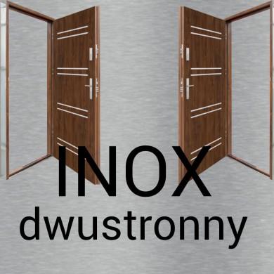 INOX dwustronny