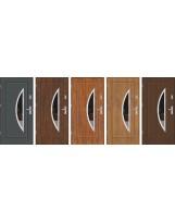 Drzwi wejściowe stalowe model PREMIUM PLUS FINEZJA 34 INOX