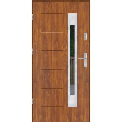 Drzwi wejściowe stalowe model PREMIUM PLUS GALA 23 INOX