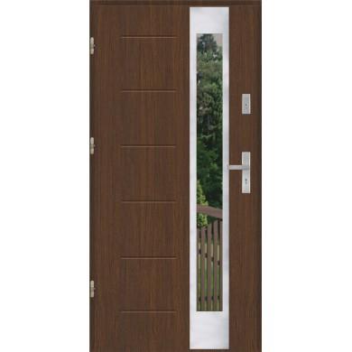 Drzwi wejściowe stalowe model PREMIUM PLUS GALA 27 INOX