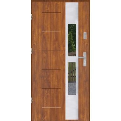 Drzwi wejściowe stalowe model PREMIUM PLUS GALA 35 INOX