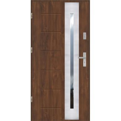 Drzwi wejściowe stalowe model PREMIUM PLUS GALA 43 INOX