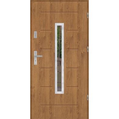 Drzwi wejściowe stalowe model PREMIUM PLUS GALA 73 INOX
