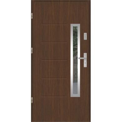 Drzwi wejściowe stalowe model PREMIUM PLUS GALA 82 INOX