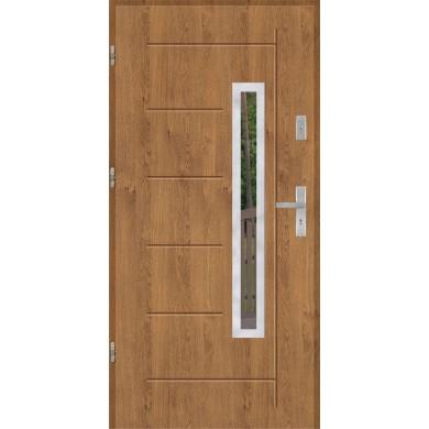 Drzwi wejściowe stalowe model PREMIUM PLUS GALA 83 INOX