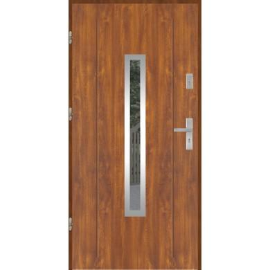 Drzwi wejściowe stalowe model PREMIUM PLUS GALA 84 INOX