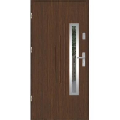 Drzwi wejściowe stalowe model PREMIUM PLUS GALA 85 INOX