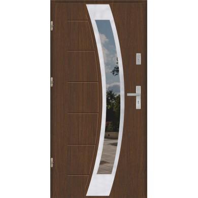 Drzwi wejściowe stalowe model PREMIUM PLUS GALA 131 INOX