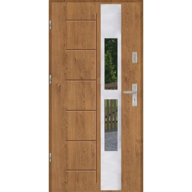 Drzwi wejściowe stalowe model PREMIUM PLUS GALA 135 INOX