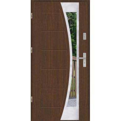 Drzwi wejściowe stalowe model PREMIUM PLUS GALA 140 INOX