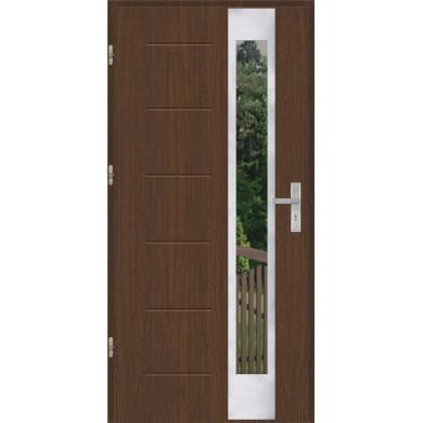 Drzwi wejściowe stalowe model OPTITERM GALA 27 INOX