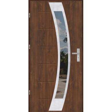 Drzwi wejściowe stalowe model OPTITERM GALA 31 INOX