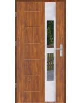 Drzwi wejściowe stalowe model OPTITERM GALA 35 INOX