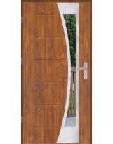Drzwi wejściowe stalowe model OPTITERM GALA 40 INOX