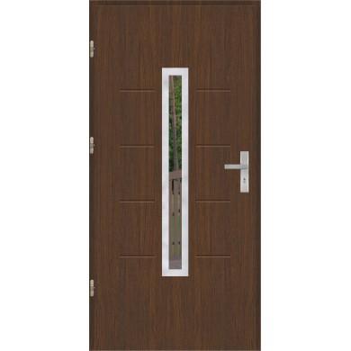 Drzwi wejściowe stalowe model OPTITERM GALA 74 INOX