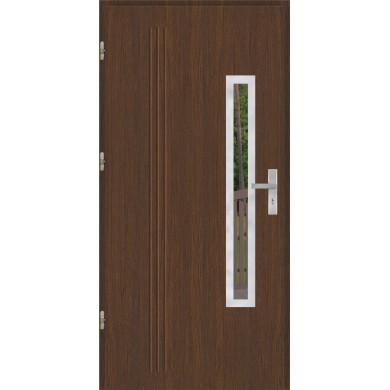 Drzwi wejściowe stalowe model OPTITERM GALA 78 INOX