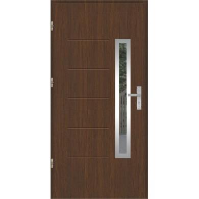 Drzwi wejściowe stalowe model OPTITERM GALA 82 INOX