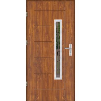 Drzwi wejściowe stalowe model OPTITERM GALA 83 INOX