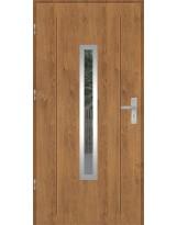 Drzwi wejściowe stalowe model OPTITERM GALA 84 INOX
