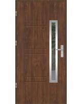 Drzwi wejściowe stalowe model OPTITERM GALA 86 INOX