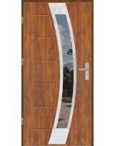 Drzwi wejściowe stalowe model OPTITERM GALA 131 INOX