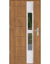 Drzwi wejściowe stalowe model OPTITERM GALA 135 INOX