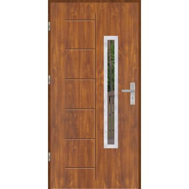 Drzwi wejściowe stalowe model OPTITERM GALA 176 INOX