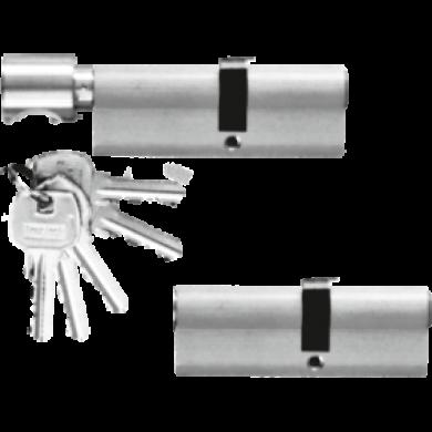 Wkładka + wkładko-gałka (system 1 klucza)