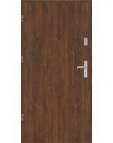 Drzwi wejściowe stalowe model EKO-NORM Płaskie