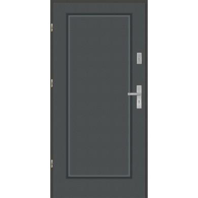 Drzwi wejściowe stalowe model EKO-NORM Finezja